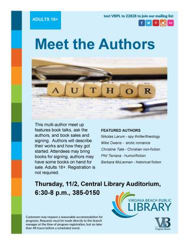 Meet the Authors 11022017